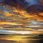 5_Fiona Haldane_Evening Sun, Tay Estuary_Pastel_5x7
