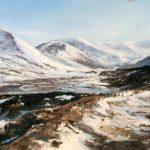 6_Fiona Haldane_The Way Home, Glen Shee_Pastel_5x7