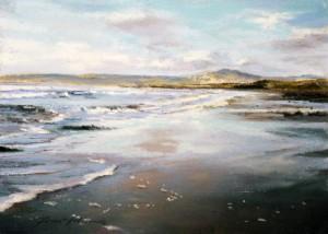 8_Fiona Haldane_Shore Line, Machrihanish_Pastel_5x7