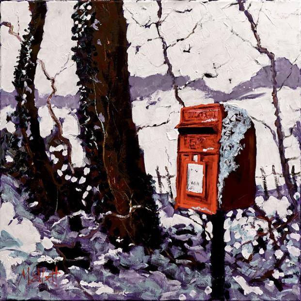 MALLETT Snowy Post Box