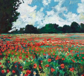 TIMMY MALLETT_Corner of a Poppyfield