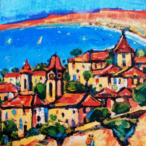 Charles Monteith Walker_725 Old Town Nice 12''x12''_1200