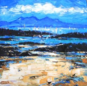 Charles Monteith Walker_751 White Sands Arisaig 24''x24''_3500