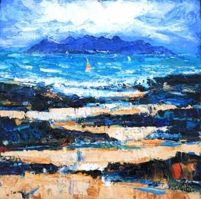 Charles Monteith Walker_752 Summer Arisaig 12''x12''_1200