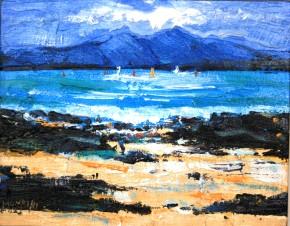 Charles Monteith Walker_753 White Sands Arisaig 8''x10''_800