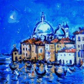 Charles Monteith Walker_761 Grand Canal Venice 12''x12''_1200