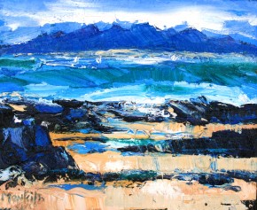 Charles Monteith Walker_767 Stormy Sea  Arisaig 8''x10''_800