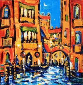 Charles Monteith Walker_768 Evening Light Venice 12''x12''_1200