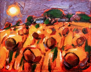 Charles Monteith Walker_776 Harvest Moon Carnoustie 8''x10''_800