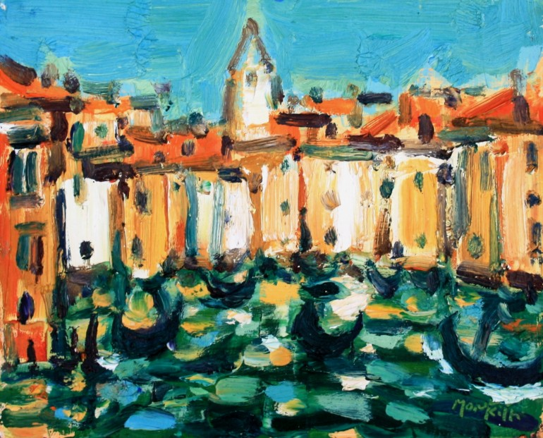 Charles Monteith Walker_781 Venice 8''x10''_800