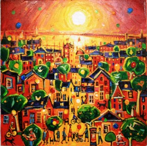 Charles Monteith Walker_786 Happy Town Dundee 36''x36''_6000