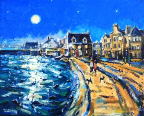 Charles Monteith Walker_791 Moonlight Beach Cres 16''x20''_1950