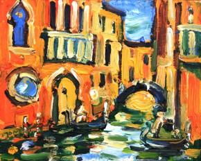 Charles Monteith Walker_793 Cannanregio Venice II  8''x10'_850