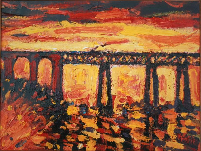 Charles Monteith Walker_795 Railbridge, Wormit 10''X 12''_750 (2)