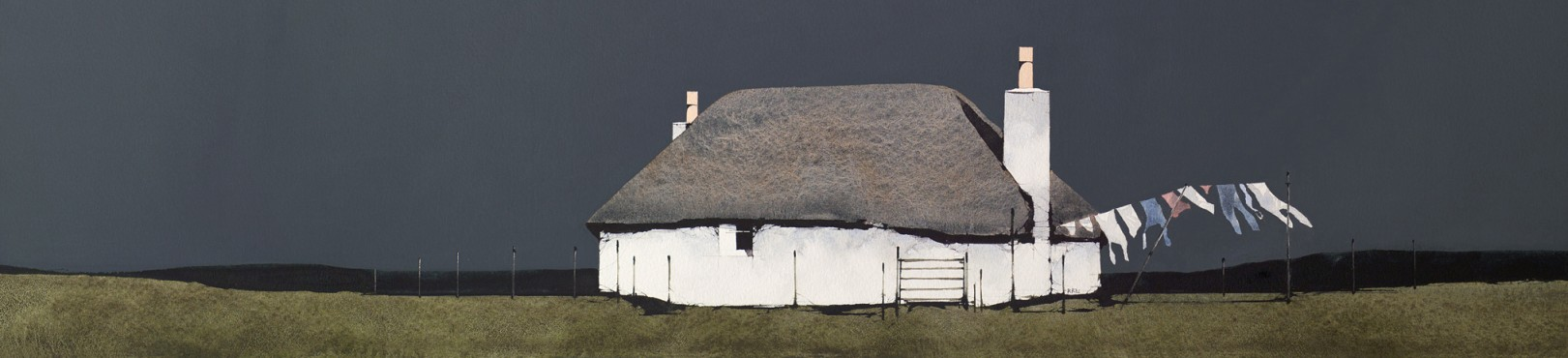 Ron Lawson_RL14_Drying Day, North Uist_Image Size 150x634mm