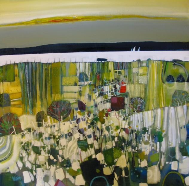 Gordon Wilson_Lasers Loch Long Oil  20x20_1590