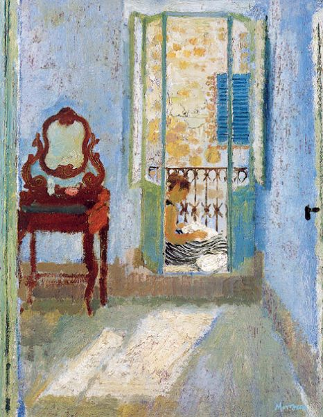 Alberto Morroco_The Blue Bedroom_14x11