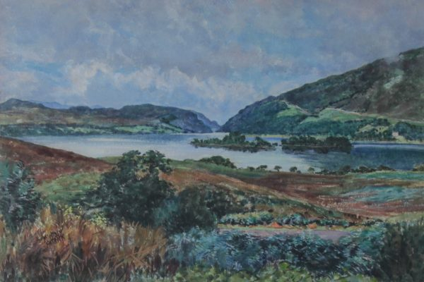 James Mcintosh Patrick_Loch Awe, Argyll & Bute_Watercolour_14x21