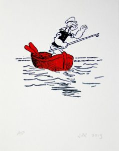 John Patrick Reynolds_Comic Art_Popeye-Dinghy-450x450