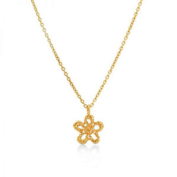 LACE-DAISY-NECKLACE-ALN01-18ct-yellow-gold-vermeil