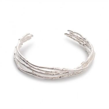 Twig Cuff - Sterling Silver