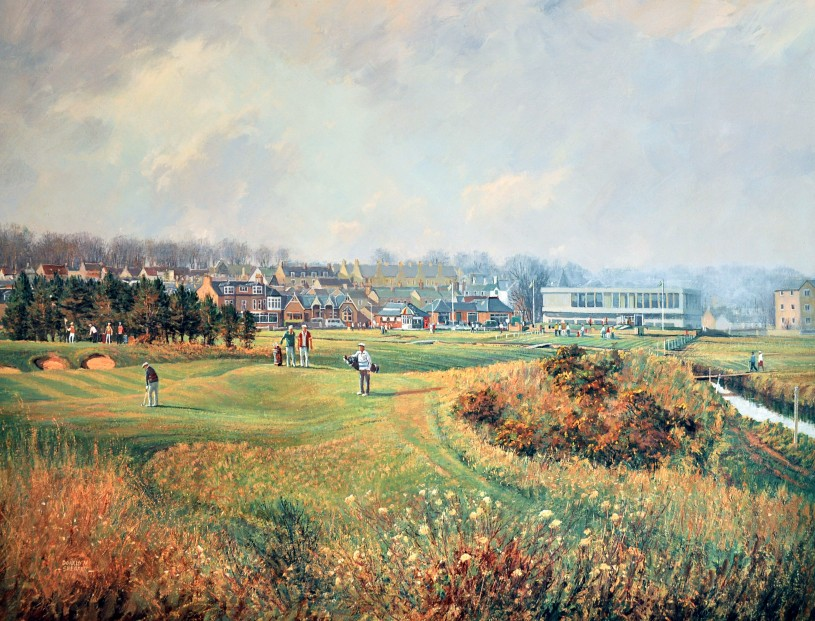 Donald Shearer_SH02.Carnoustie.Championship.Course.The Way It Was. 506x633mm