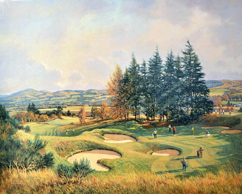 Donald Shearer_SH11.GLENEAGLES.14TH.KINGS.COURSE.506x633mm