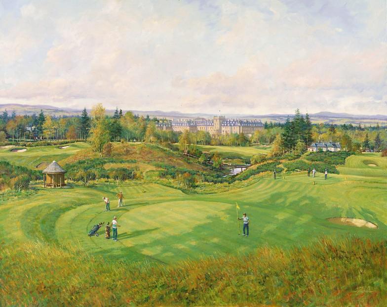 Donald Shearer_SH13.Gleneagles.The.17th.Kings.Course.253x355mm