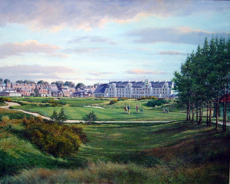 Donald Shearer_SH29.Carnoustie.16th.Championship.Course.253x355mm