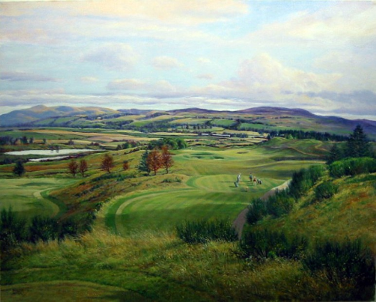 Donald Shearer_SH35.The.8th.PGA.Course.Gleneagles (large)_445x505mm