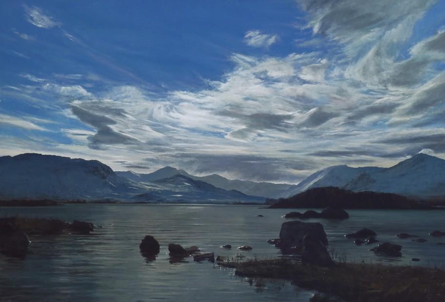 John Bell_Blackmount, Rannoch Moor_Acrylic_24x36