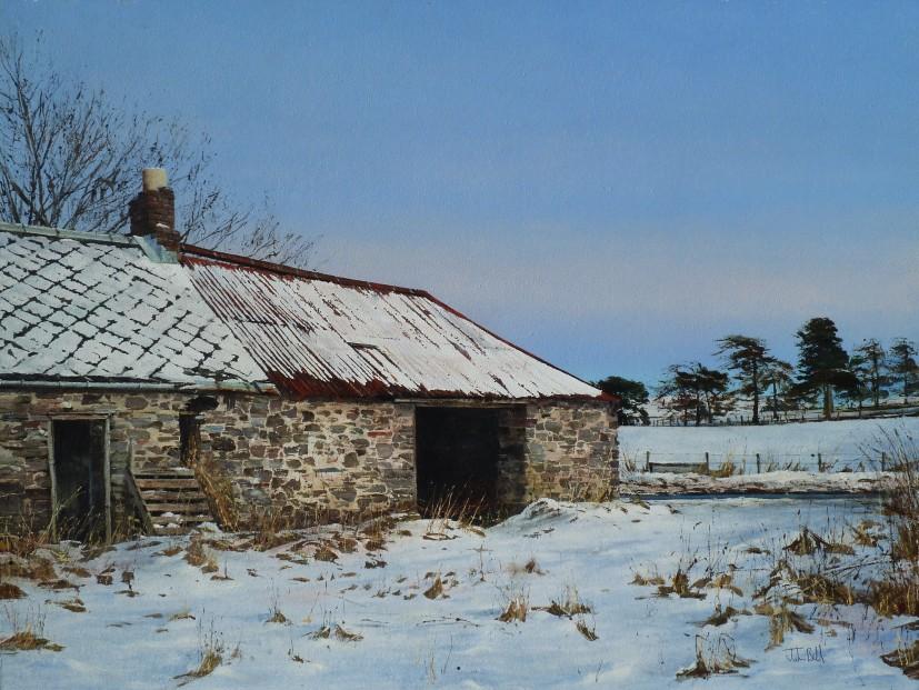 John Bell_Dalreichmoor II, Near Rait, Carse Of Gowrie_Acrylic_18x24