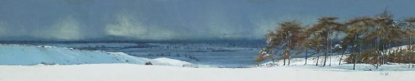 John Bell_Strathmore from Shanry_Acrylic_9x48