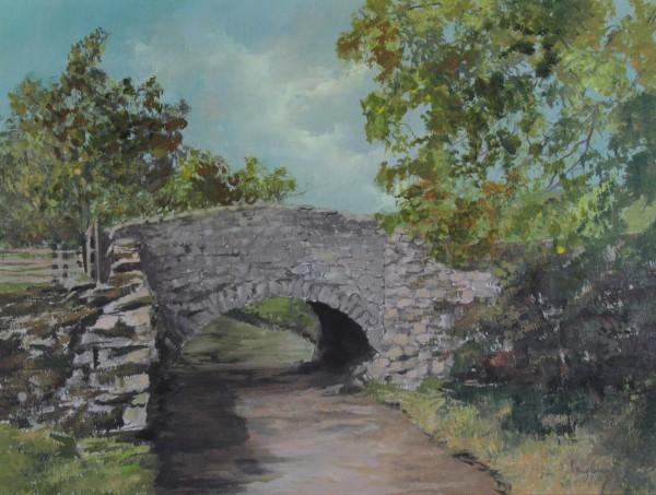 Philip Raskin_ A bridge in the past_Acrylics_18x24_750