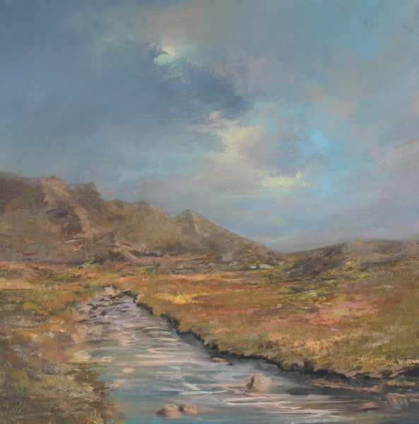 Philip Raskin_ Land of Burns_Acrylics_24x24_895