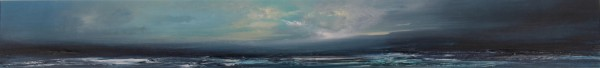 Philip Raskin_ Panoramic Blues_Acrylics_6x48_495