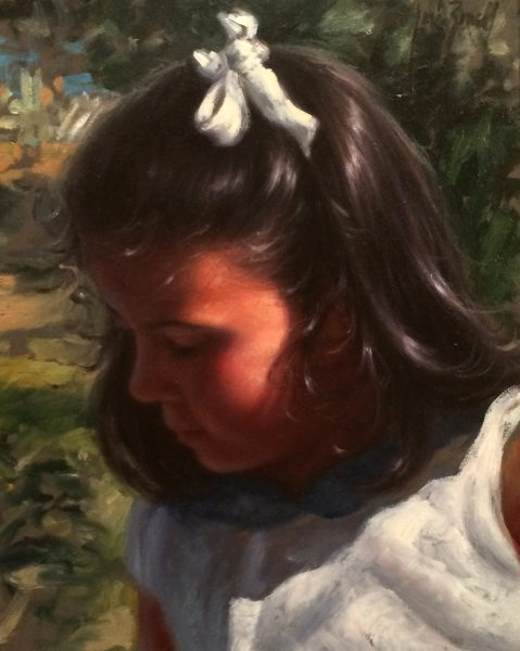 Jose Borrell_Innocence II_Oils_10x8.25