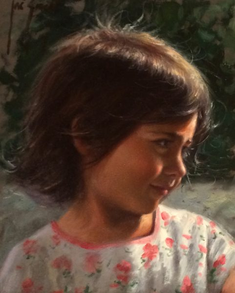 Jose Borrell_Innocence I_Oils_10x8.25