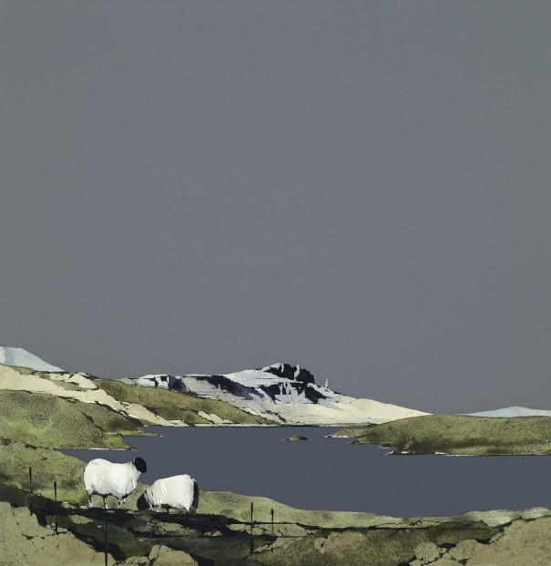 RL21_Ron Lawson_Loch Leathan and the Storr_Signed Limited Edition Print_300x300mm