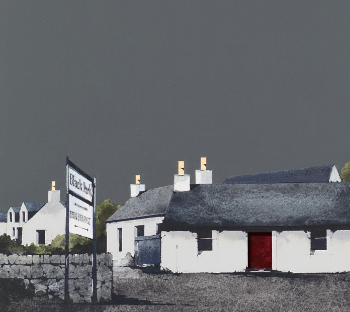 RL23_Ron Lawson_Bed & Breakfast, Skye_Signed Limited Edition Print_178x203mm