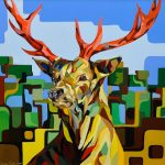 Simon Wright_Stag_24x24