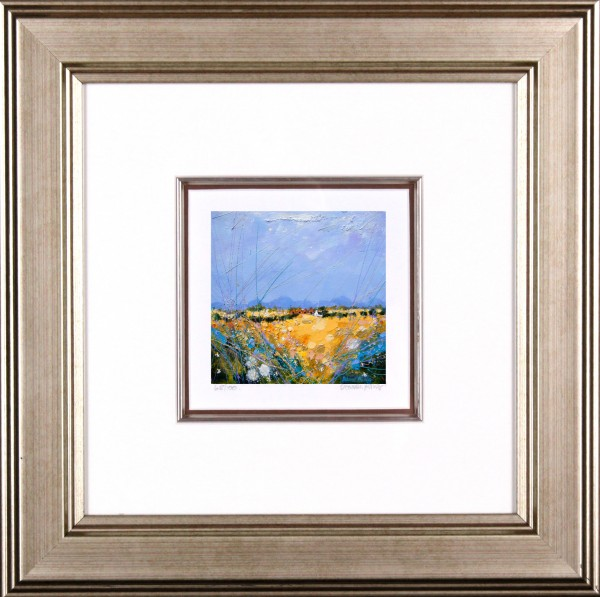 Deborah Phillips_Rusty Strathmore Barns_14x14_Framed Print
