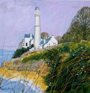 Deborah Phillips_West Light Tayport_Hand Embellished Signed Limited Edition_15x15