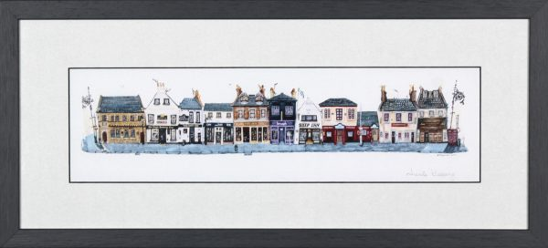 Nicola Kleppang_Broughty Ferry Pub Crawl_Framed