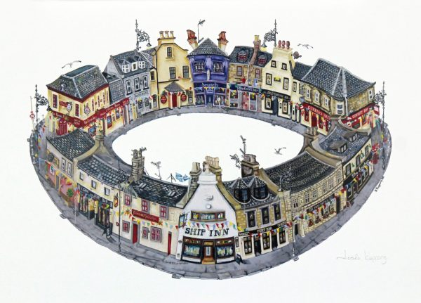 Nicola Kleppang_Broughty Ferry Pubs, Your Round_10x15
