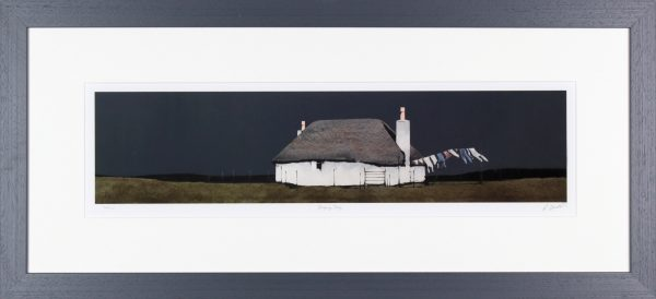 Ron Lawson_RL14_Drying Day, North Uist_16x35_FRAMED