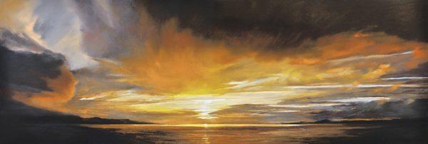 Fiona Haldale_Sunset, River Tay_
