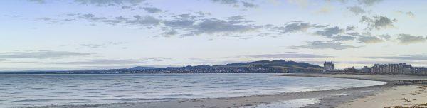 Ian Johnstone_Twilight esplanade, Broughty Ferry_