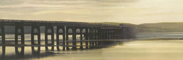 John Bell_Golden Light The Tay Bridge_