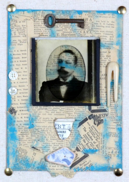 Ruby Rae_The Man Who Was_Mixed Media & Assemblage_10x8.5